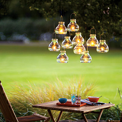 recycled-glass tea light lanterns cool creativity