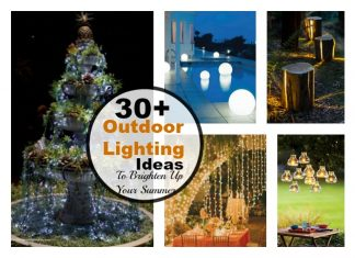 30+ Cool DIY Outdoor Lighting Ideas To Brighten Up Your Summer