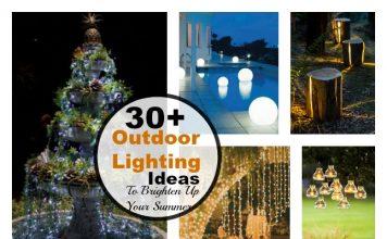 30+ Cool DIY Outdoor Lighting Ideas To Brighten Up Your Summer
