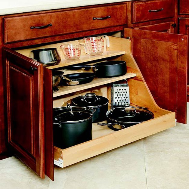 Pots And Pans Storage Ideas To Take Note Of: 40+ Great Kitchen Storage Ideas Every Woman Should Know
