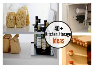 Great Kitchen Storage Ideas, Organization Tips