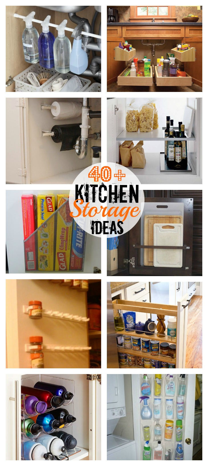 40 great kitchen storage ideas every woman should know for Great storage