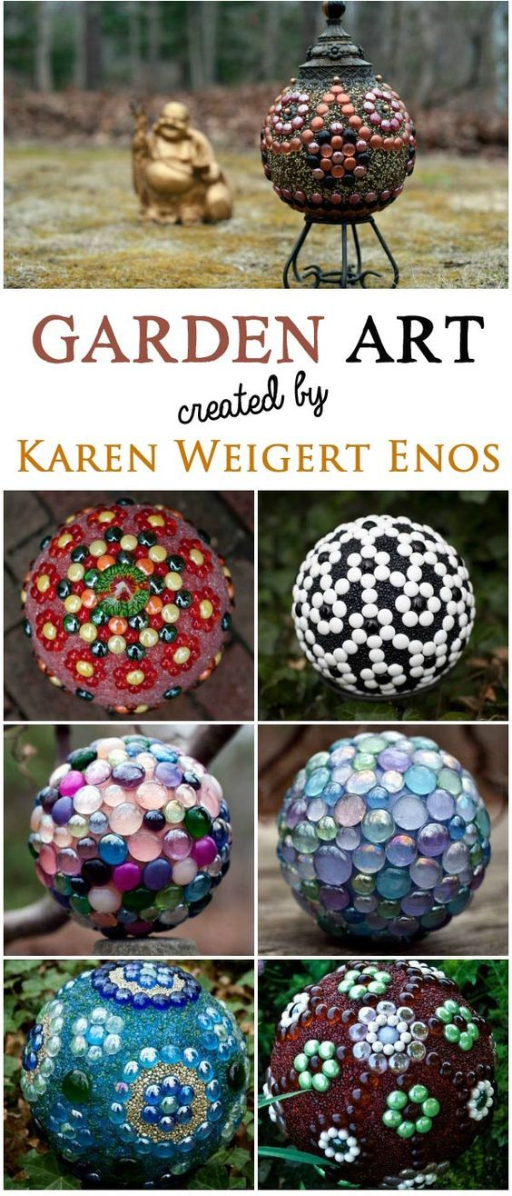 A gallery of gorgeous garden art balls