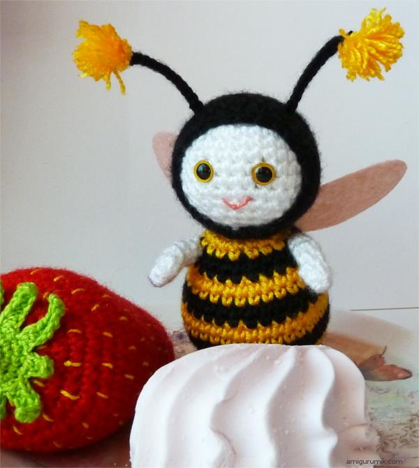 Free Amigurumi Crochet Hat Patterns : 26 Beautiful Crochet Bee Patterns - Page 3 of 3
