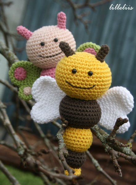 26 Beautiful Crochet Bee Patterns - Page 2 of 3