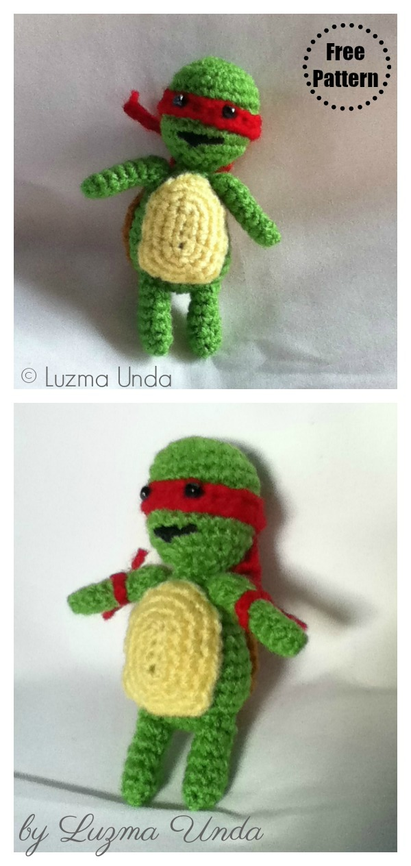 Teenage Mutant Ninja Turtles | Turtle pattern, Crochet ninja ... | 1264x600