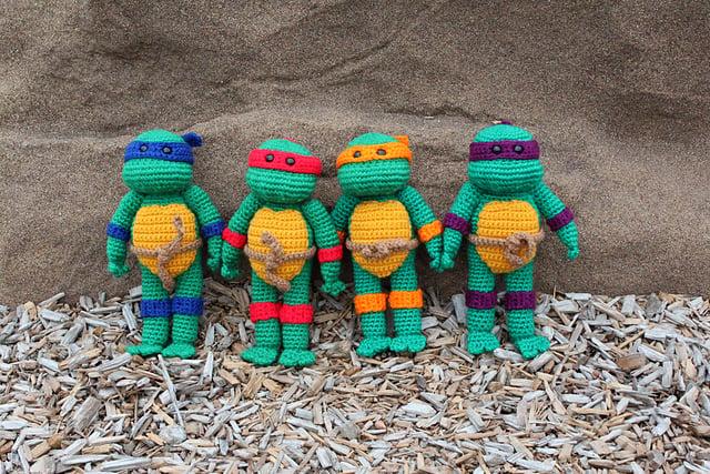 Amineko Teenage Mutant Ninja Turtle Crochet FREE Pattern