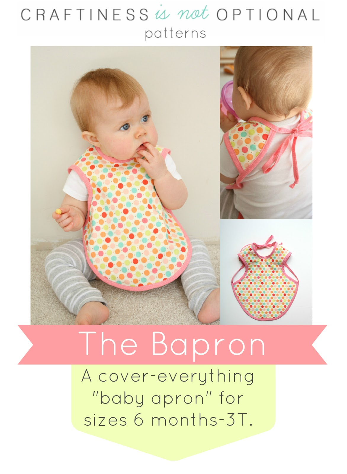 Baby Apron Sewing Tutorial