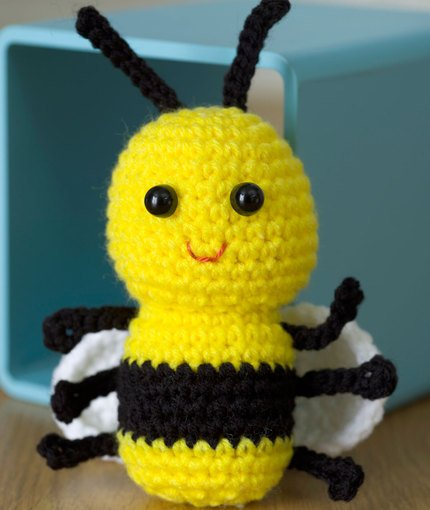Baby Bee Free Crochet Pattern
