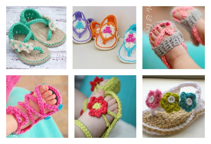 Baby Sandals Crochet Pattern - Cool Creativities