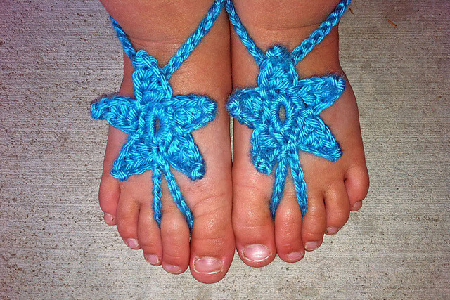30 Awesome Crochet Barefoot Sandals Patterns Page 3 Of 3