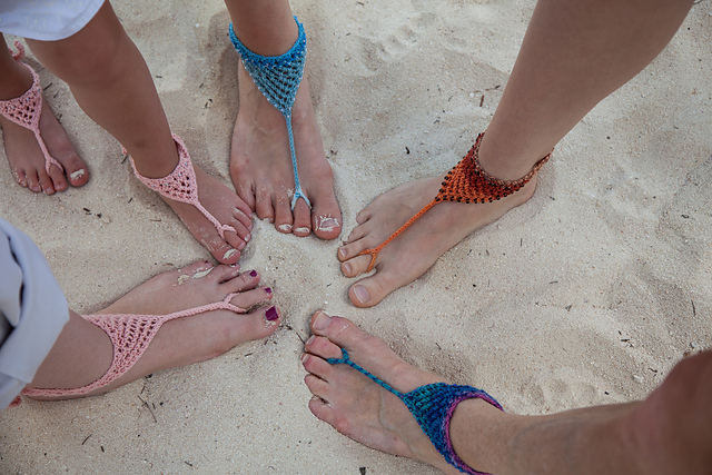 30+ Awesome Crochet Barefoot Sandals Patterns - Page 2 of 3