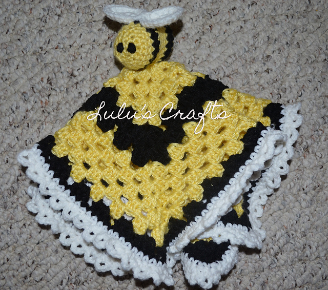 Free Crochet Patterns Yarn Bee : 26 Beautiful Crochet Bee Patterns - Page 3 of 3