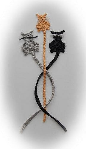 Bits & Bobbles : Crochet Cat Bookmark (Free Pattern) | Crochet cat ... | 500x289