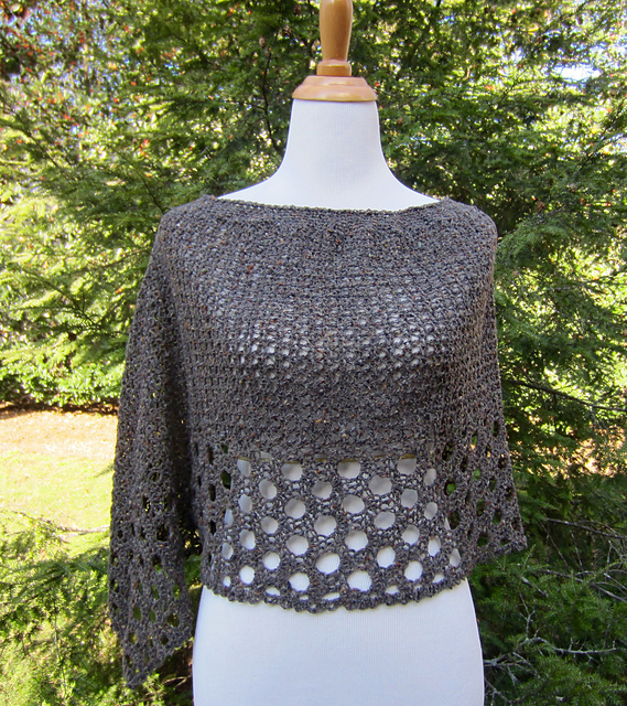 Crochet Kelleys Poncho with FREE Pattern