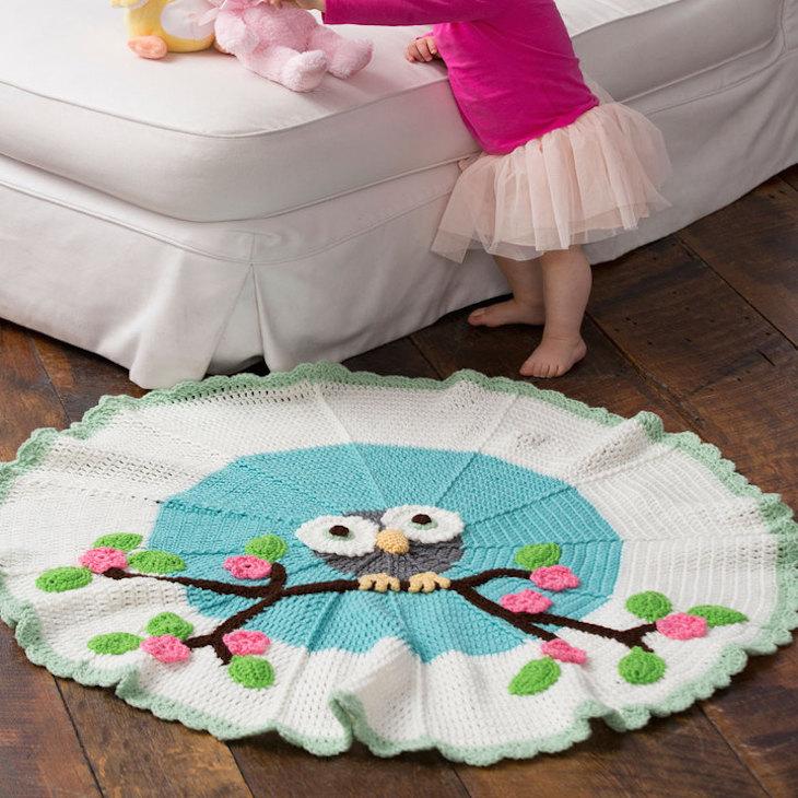 Cute Owl Blanket Free Crochet Pattern Cool Creativities