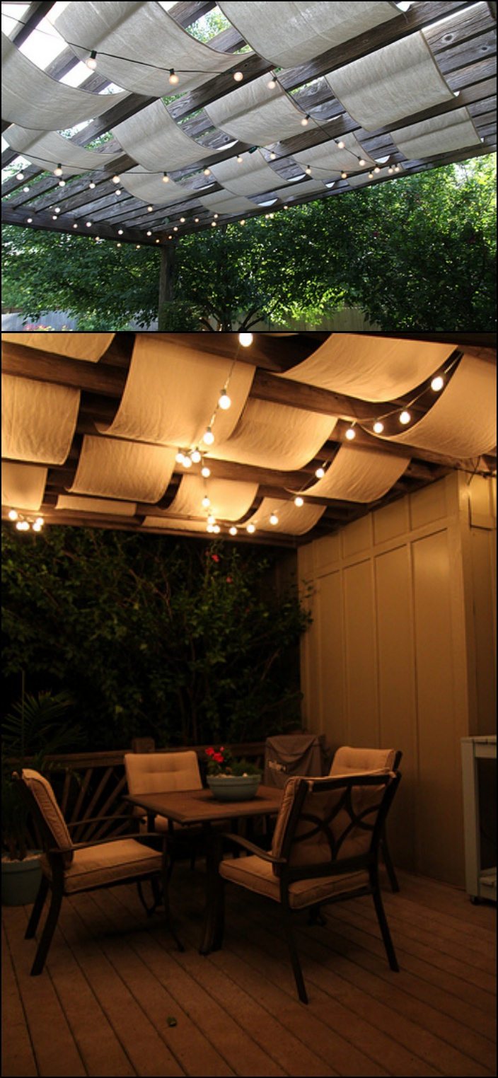 10 Creative DIY Outdoor Shady Space Ideas