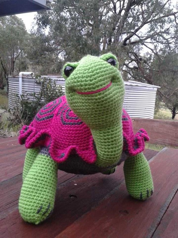 Crochet Ninja Turtle Patterns