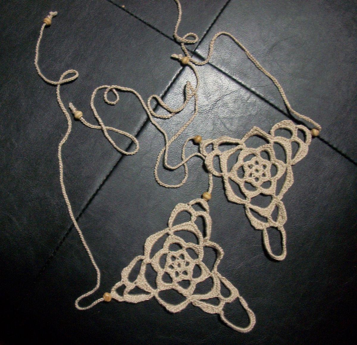 Hippy Feet Barefoot Sandal free Crochet pattern