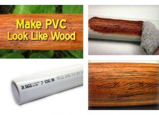 Make PVC Look Like Wood