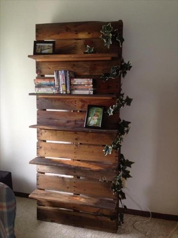 Pallet Shelves, Pallet Bookshelves
