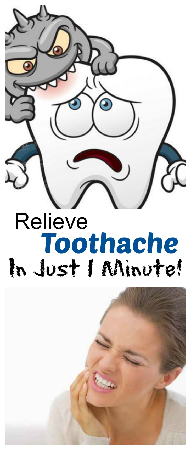 Put This In Your Mouth and That Frustrating Toothache Will Disappear in A Few Seconds