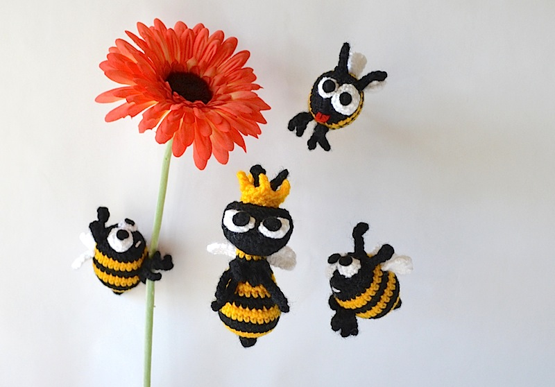 Queen Bee Free Crochet Pattern