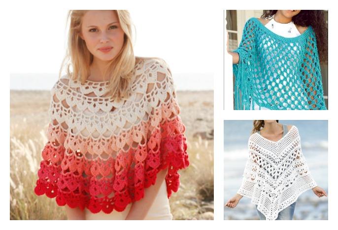 Summer Poncho Free Crochet Patterns Cool Creativities