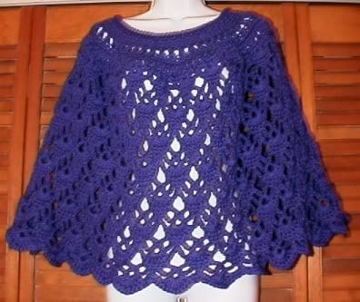 10 + Summer Poncho Free Crochet Patterns - Page 2 of 2