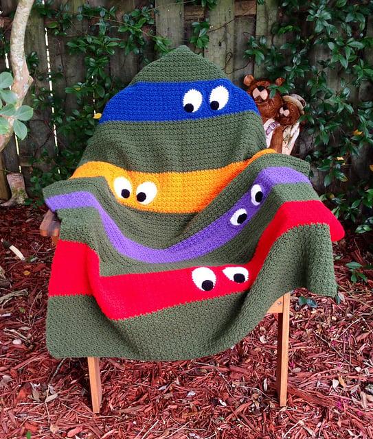 Free Crochet Teenage Mutant Ninja Turtle Pattern : Crochet Ninja Turtle Patterns