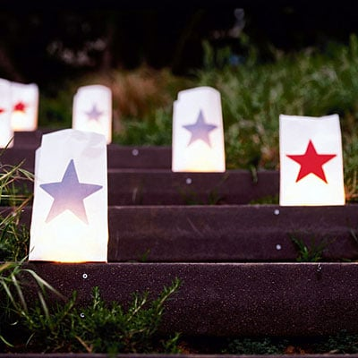 star luminarias light