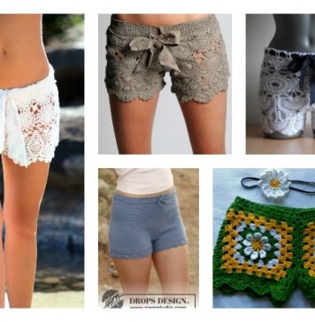 10+ Crochet Shorts Patterns