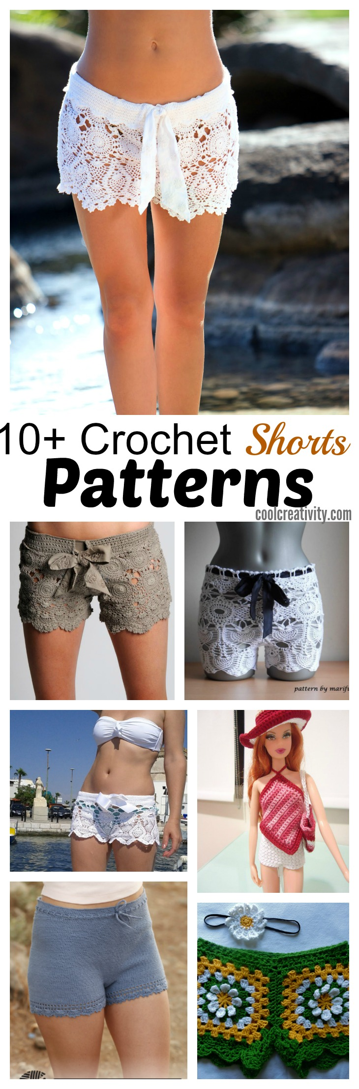 10+ Gorgeous Crochet Shorts Patterns in Ravishing and ...