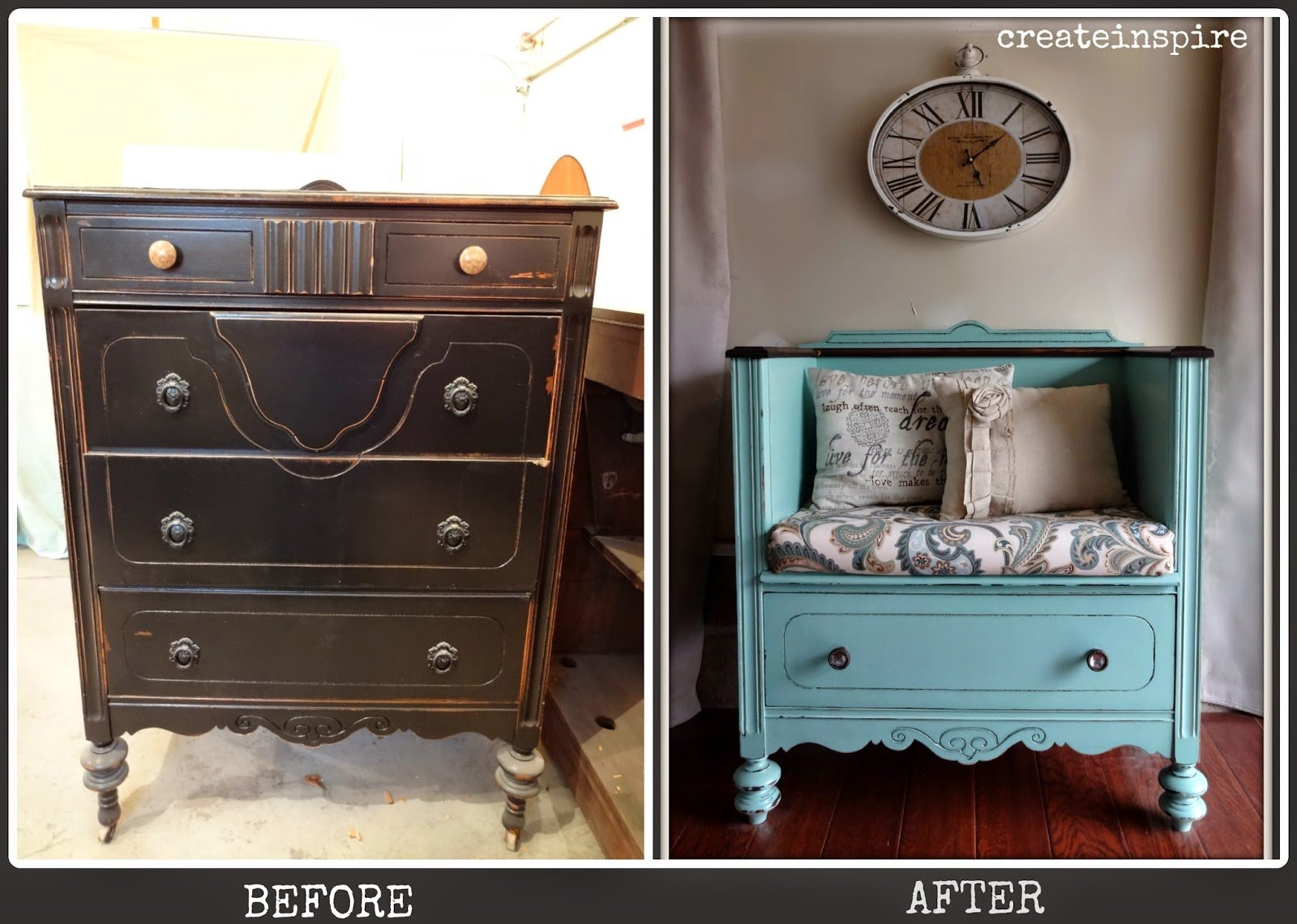 16 Upcycled Furniture Ideas To Give Old Furnitures New