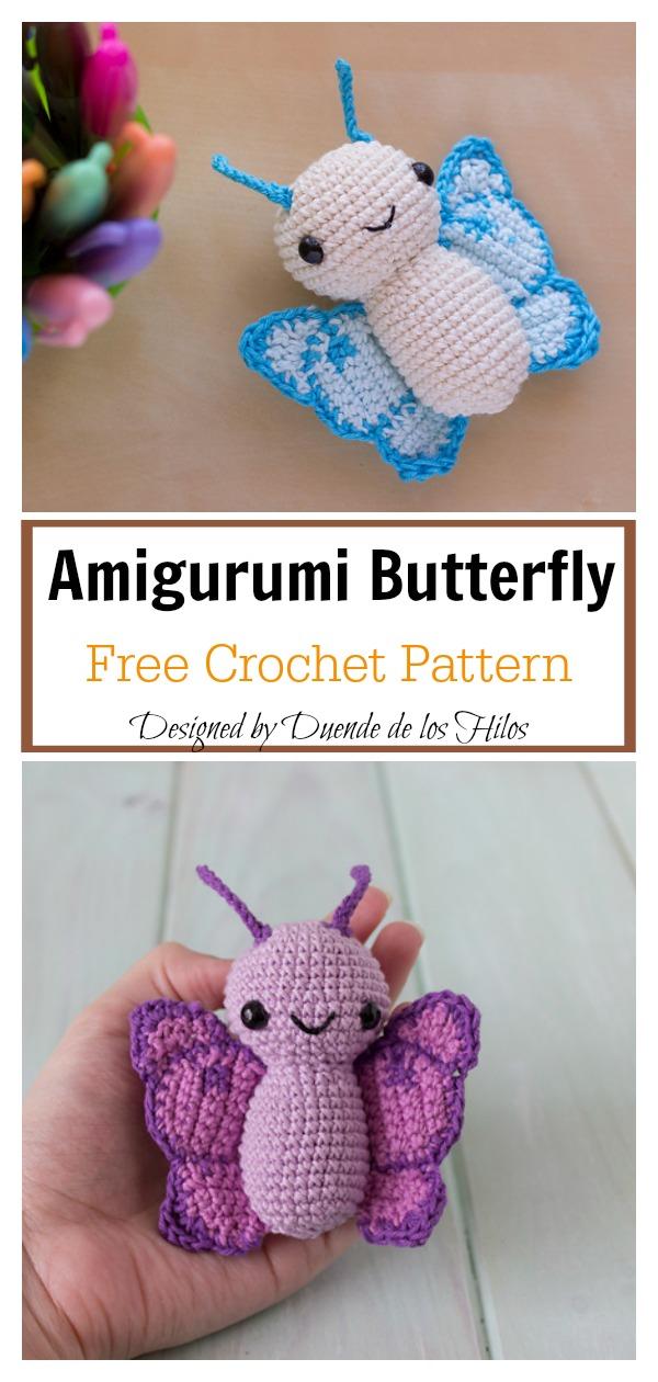 50+ Free Crochet Butterfly Patterns ⋆ Crochet Kingdom | 1260x600