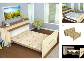 Build a DIY Built-in Roll-out Bed to Save Space