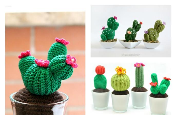 Amigurumi Cactus Crochet Pattern : 10 desert cactus amigurumi crochet patterns cool creativities