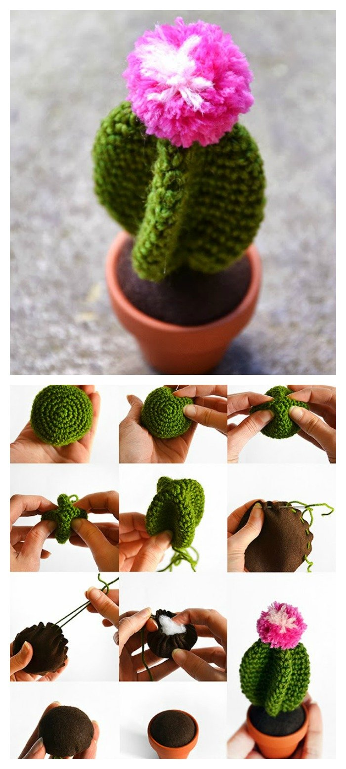 Amigurumi Cactus Pattern : 10+ Desert Cactus Amigurumi Crochet Patterns - Look ...