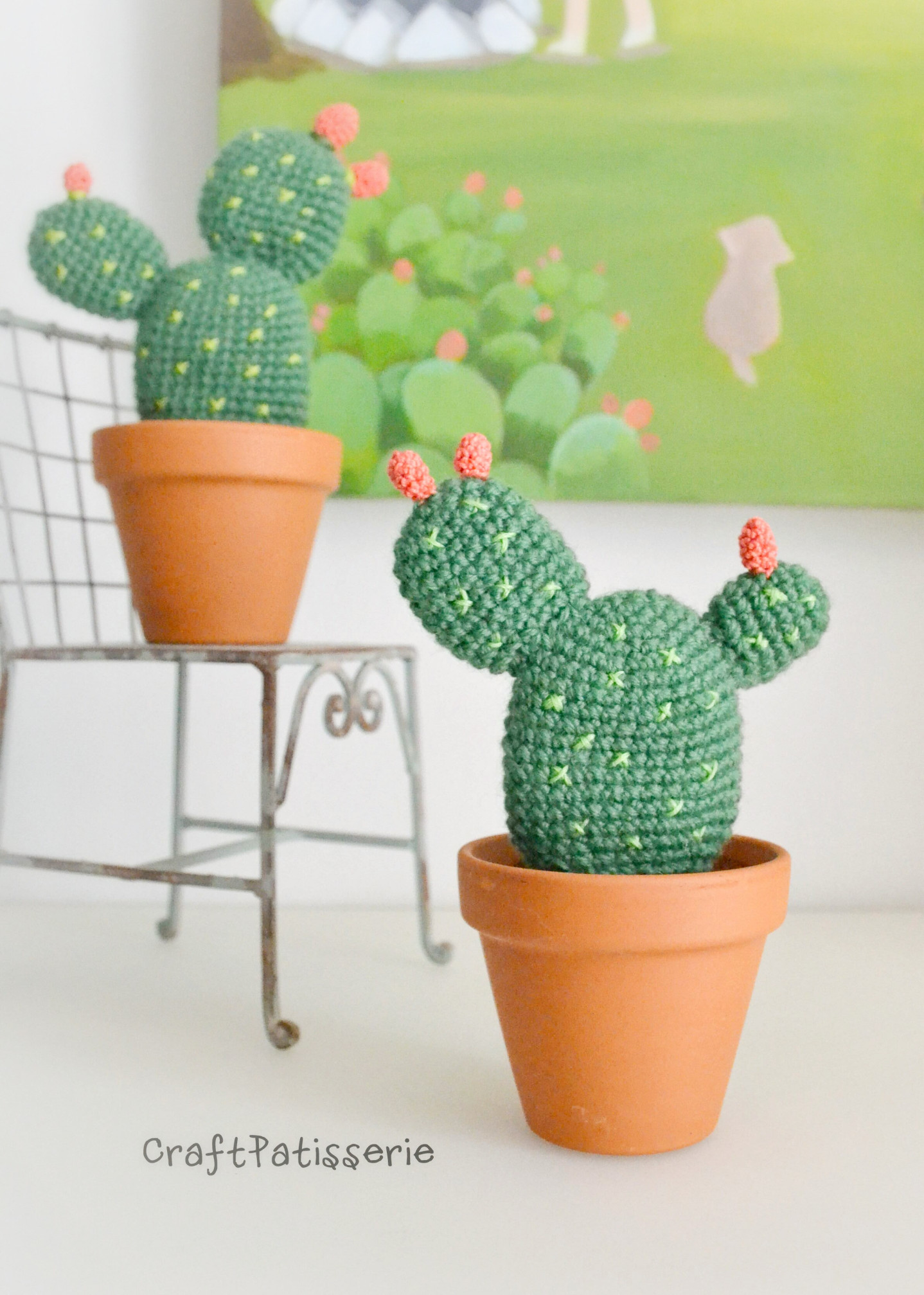 10+ Desert Cactus Amigurumi Crochet Patterns - Look