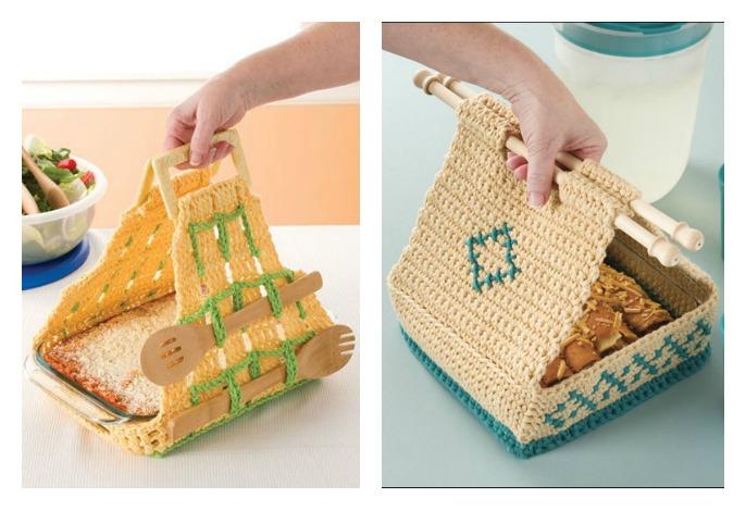 Casserole Carrier Free Crochet Pattern