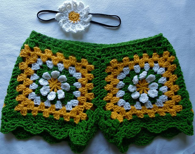 10+ Gorgeous Crochet Shorts Patterns in Ravishing and ...
