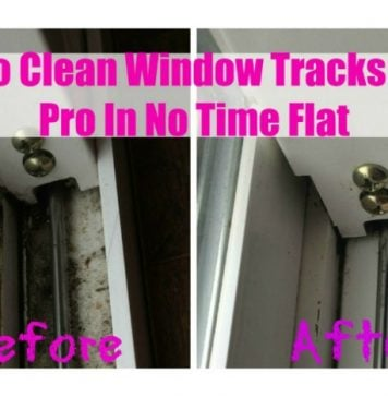 How to Clean sliding door or Window Tracks Like a Pro In No Time Flat