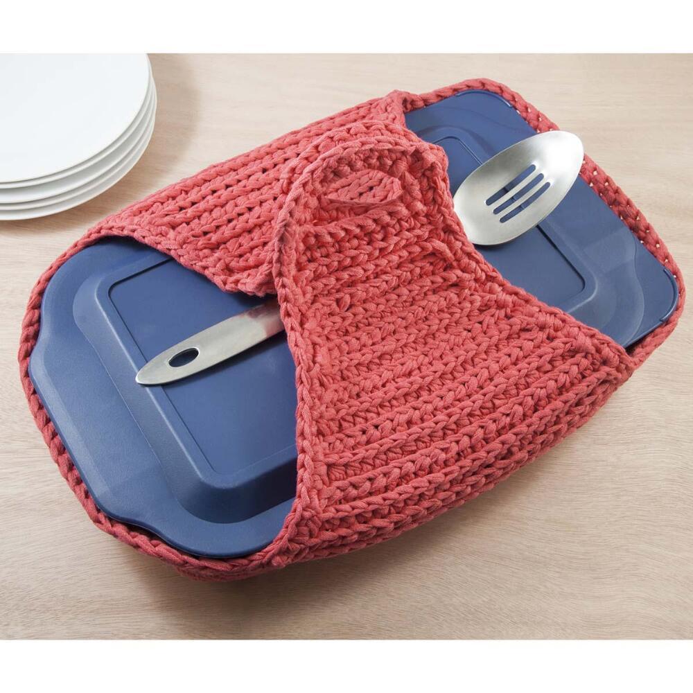 Potluck Casserole Cozy Free Crochet Pattern