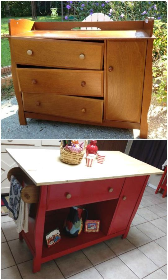 Repurposed Kitchen Island Ideas