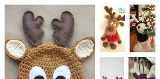 10+ Crochet Reindeer Patterns