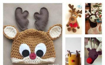 10+ Crochet Reindeer Patterns