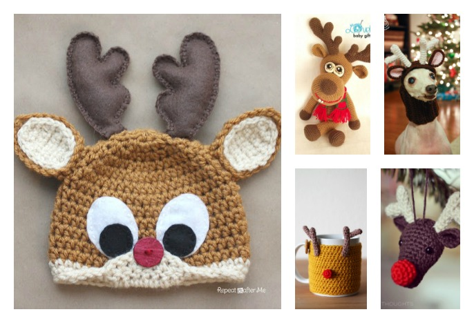 20+ Crochet Reindeer Patterns
