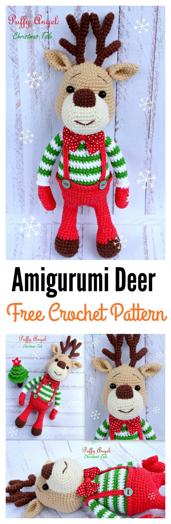 20 Crochet Reindeer Patterns - Page 3 of 3