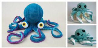 Amigurumi Octopus Baby Toy Free Crochet Pattern
