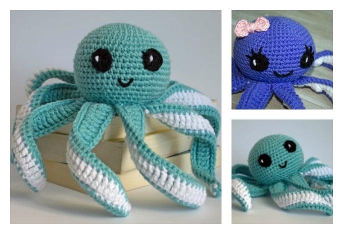 Crochet An Octopus For Preemies - Crochet 365 Knit Too | 468x686